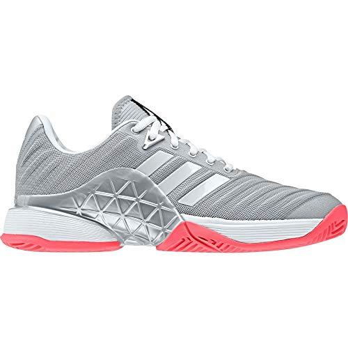 ジレンマ必要条件完璧(アディダス) adidas レディース テニス シューズ?靴 adidas Barricade 2018 Tennis Shoes [並行輸入品]