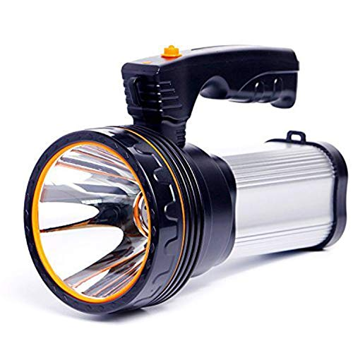 ROMER LED Rechargeable Handheld Searchlight High-Power Super Bright 9000 MA...