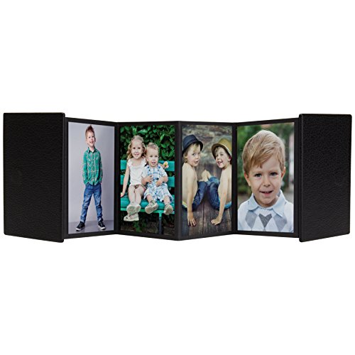 2.5x3.5 Mini Accordion Self-Stick Photo Album (1, Black) - Accordion Photo