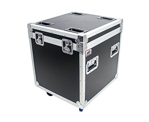 OSP Cases | ATA Road Case | Utility Truck Pack Transport Case | 22 with Dividers and Tray | Heavy-Duty Casters | TC2224-30 [並行輸入品]   B07MB4663L