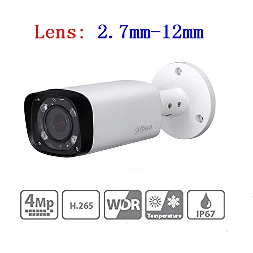 Dahua 4mp Bullet PoE IP Camera IPC-HFW4431R-Z 2.7-12mm Lens Motorized Varifocal Waterproof Network Security Surveillance System