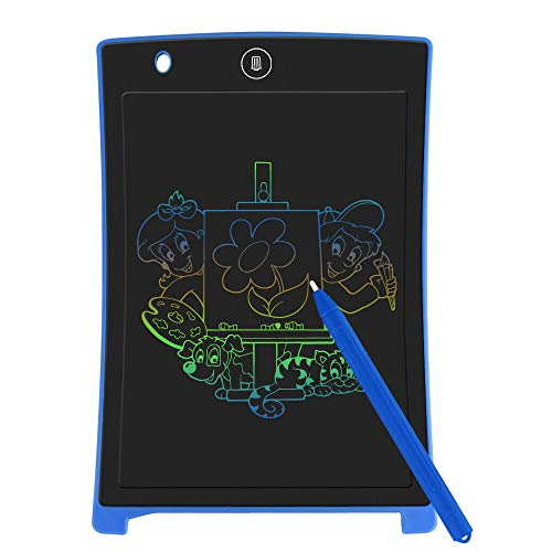 LCD Writing Tablet, Electronic Colorful Screen Drawing Board / Tablet for Kids Doodle Board Writing Pad for Kids at Home, School and Office(Blue)