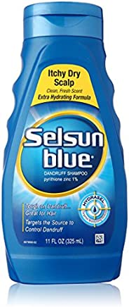 Selsun Itchy Dry Scalp, Blue, 11 Ounce