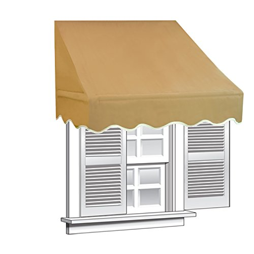 Review ALEKO WAW4X2SAND31 Window Canopy