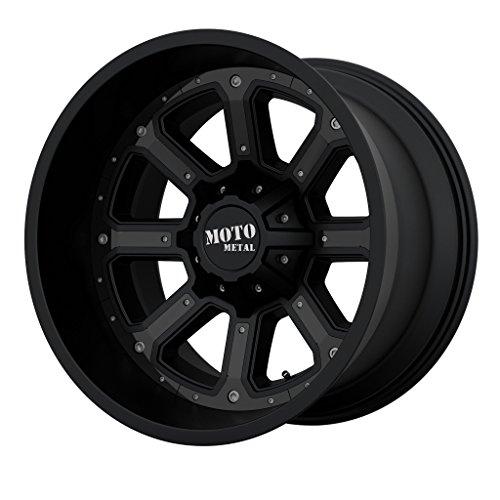 20×12 Moto Metal 984 Shift 6×135/6×139.7 Matte Black with Gray/Black Insert Offset -44 Wheels Rims MO98421267744N