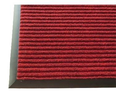 Carpet Floor Mat Burgundy 3'' x 10''