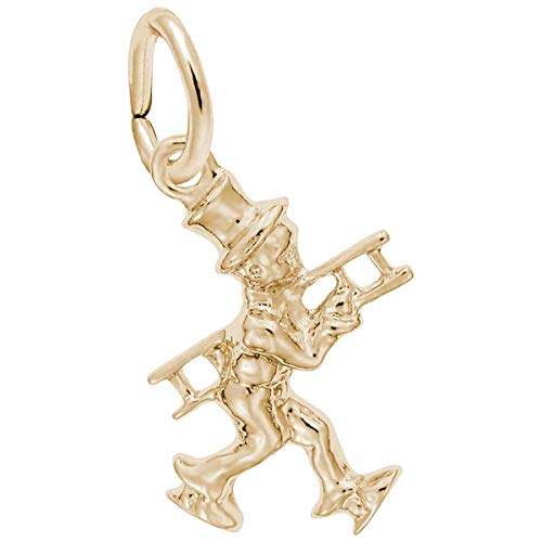 Rembrandt Charms Chimney Sweep Charm, 10K Yellow Gold ()