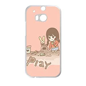 Play Girl With Toy personalized creative custom protective phone case for HTC M8