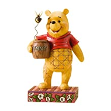 Disney Traditions by Jim Shore Winnie The Pooh Figurine, 4-1/2-Inch