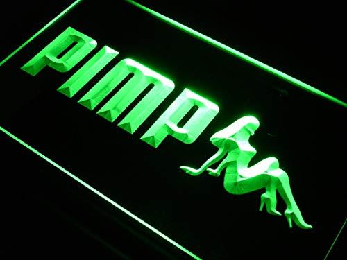 ADVPRO Pimp Nude lady girl sexy New LED看板 ネオンプレート サイン 標識 Purple 600 x 400mm st4s64-s211-p B07K2H348G 24