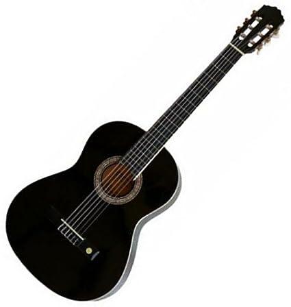 Tenson Classic F500056 - Guitarra, tamaño 4/4, color negro: Amazon ...