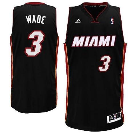 489007650 ... store mens miami heat dwyane wade adidas black swingman road jersey  361a9 2b895