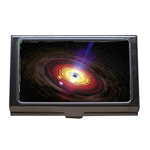 - Business Card Holder,Flat Earth Globe World Planet Universe Continents,Business Card Case Stainless Steel