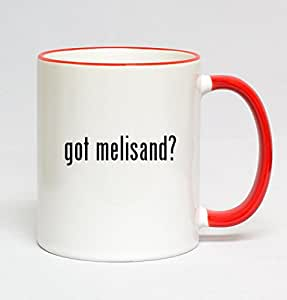11oz Red Handle Coffee Mug - got melisand?