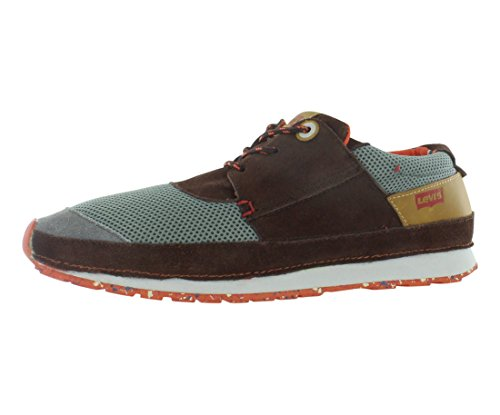 Levis Runner Levis Dark Shoes City City Mens Size Brown graUqtgwx