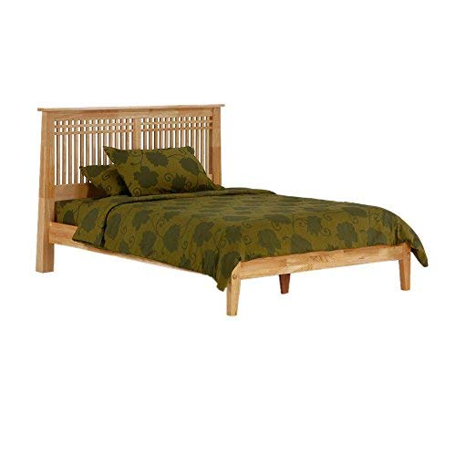 Night & Day Furniture Solstice Bed, P Series, Twin, Natural Finish