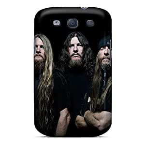 Bumper Hard Phone Covers For Samsung Galaxy S3 (QGW15274khVC) Allow Personal Design Realistic Grave Band Series
