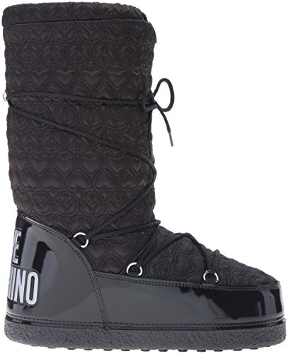 Love Moschino Women's Peace Moonboot Snow Boot Black LvmmY