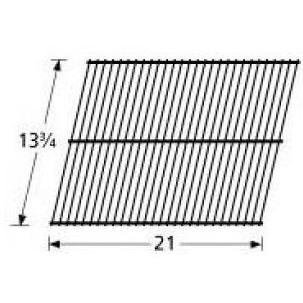 Cooking Grid Wire Steel Chrome (Music City Metals 40701 Chrome Steel Wire Cooking Grid Replacement for Select Turco Gas Grill Models)