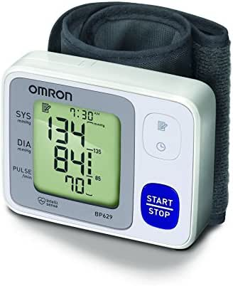 OMRON 3 Series Wrist Blood Pressure Monitor; 60-Reading Memory with Irregular Heartbeat Detection by OMRON