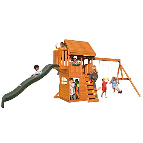 (GRANDVIEW LODGE SWING SET by KIDKRAFT)