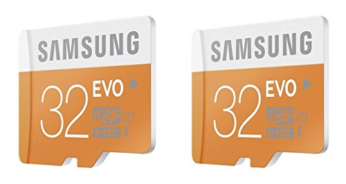 2 x Quantity of Samsung Galaxy S2 32GB Micro SD Memory Card Ultra Class 10 SDHC up to 48MB/s with Adapter - FAST FREE SHIPPING FROM Orlando, Florida USA!