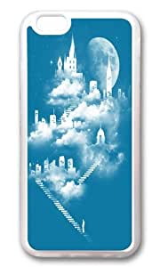 Apple Iphone 6 Case,WENJORS Awesome STAIRWAY TO HEAVEN Soft Case Protective Shell Cell Phone Cover For Apple Iphone 6 (4.7 Inch) - TPU Transparent