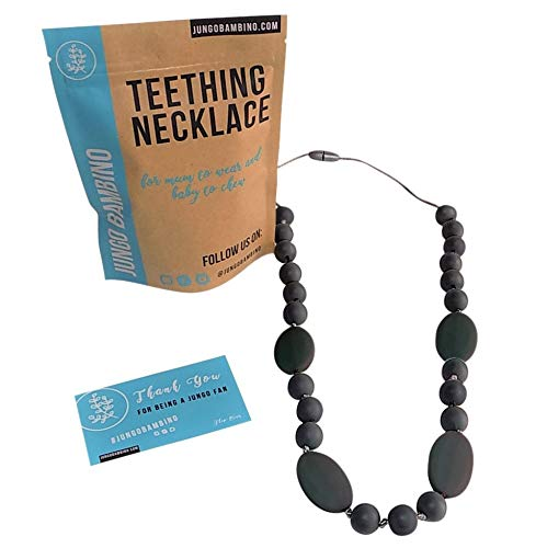 Teething Necklace For Moms To Wear and Baby To Chew