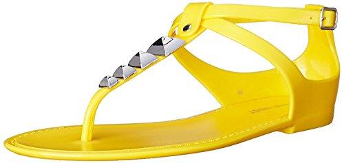 5 Nine West 6 EU Dyligence Jelly B 38 UK Synthetic M M Women'S 5 Sandal Yellow B UqRB8rCqwx