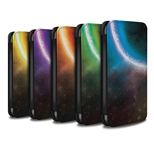 Stuff4 Coque/Etui/Housse Cuir PU Case/Cover pour Apple iPhone X/10 / Pack 13pcs Design / Cosmos Collection