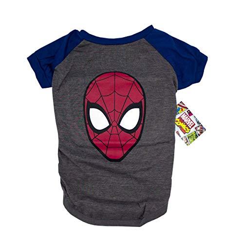 Spiderman Tee For Dogs, Medium | Marvel Comics Spiderman Logo T-Shirt for Medium-Sized Dogs