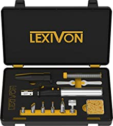 LEXIVON Butane Soldering Iron Multi-Purp...