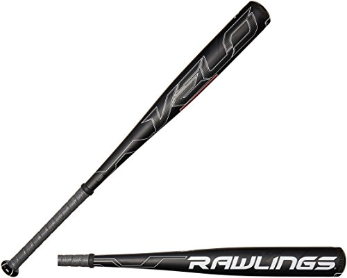 Rawlings Men's Senior League Velo Baseball Bat, Black, 32-Inch/27-Ounce