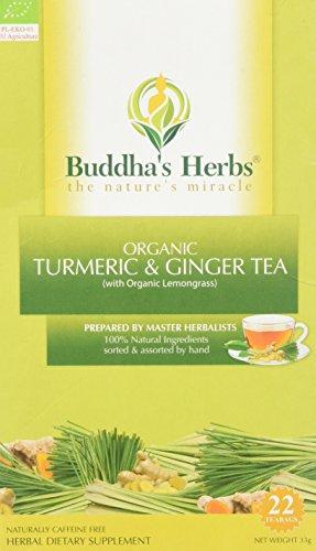 Buddhas Herbs Organic Turmeric Lemongrass