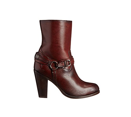 Plate Boot B Jenny Full Smooth Chocolate Grain Short FRYE 10 M Women's p4xwZpU