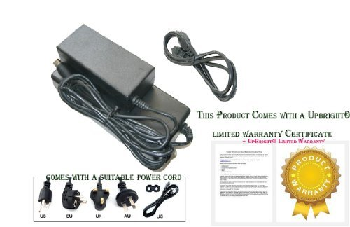 UpBright 24V 12V New Global AC / DC Adapter For Protron Flat PLTV32 PLTV32M LU32A1A3 PLTV 32