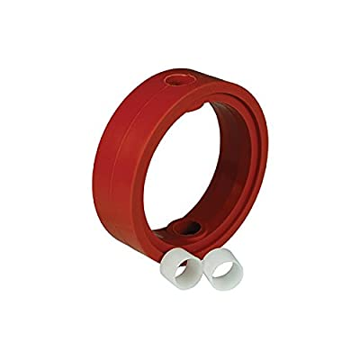 """Dixon Sanitary B5115 Butterfly Valve Repair Kit, Silicone Seat w/ (2) Bushings - for 2"""" Valves by Dixon Sanitary"""