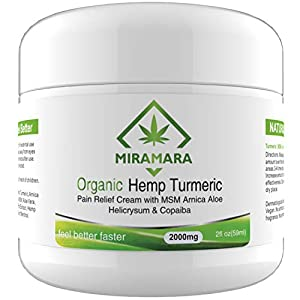 Hemp Cream for Pain Relief – Maximum Strengt...