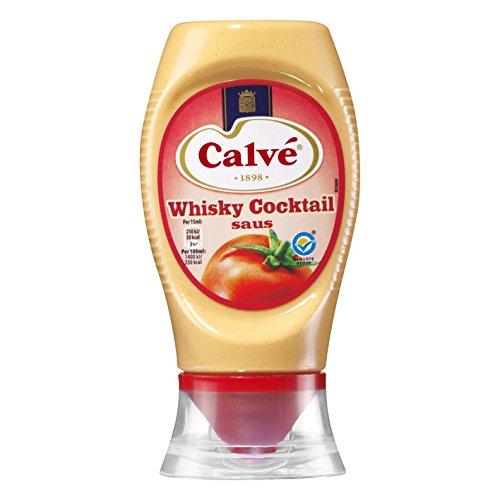 Calve whisky salsa de cóctel Squeeze botella de 250 ml (200 gramos) [JUEGO 4]: Amazon.es: Alimentación y bebidas