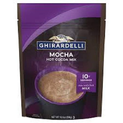 Ghirardelli Chocolate Mocha Premium Hot Cocoa, 10.5 oz.