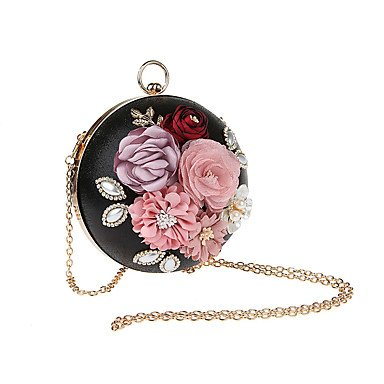 Or KEY SUNNY Argent Polyester black et Pochettes Noir Cliquet clutches Rouge nwgY1gdq