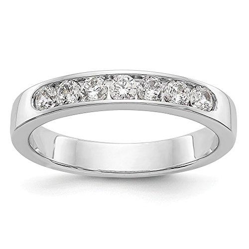 0.41 Ct Diamond Band - 8