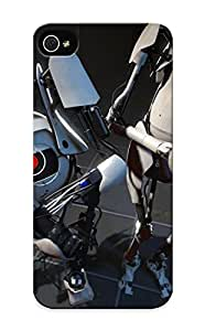 Fashion Tpu Case For Iphone 5/5s- Portal 2 Defender Case Cover For Lovers