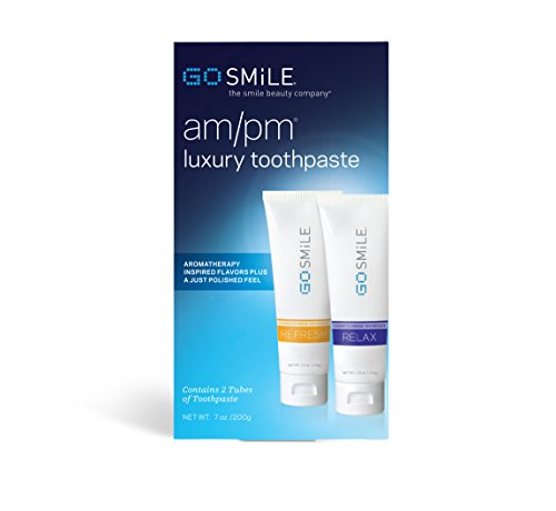Go Smile Am and Pm Toothpaste Duo, 7-ounce