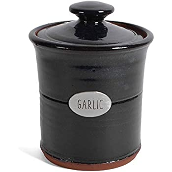 Crosby /& Taylor Vineyard Garlic Pot with Pewter Finial Whipping Cream