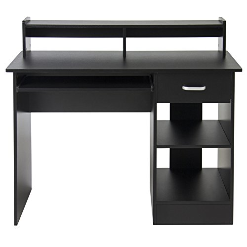 LTL Computer Black Desk Laptop Table Home Office Furniture Work Station