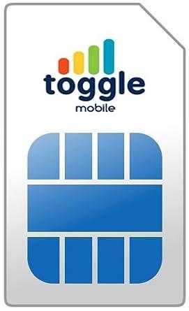Amazon.com: Toggle tarjeta SIM (Multi País)