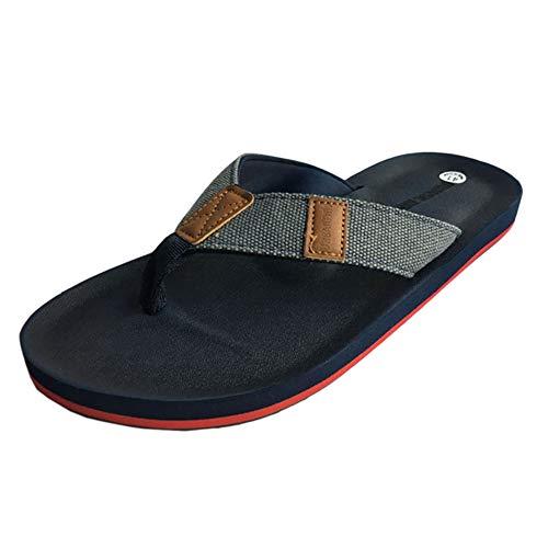 bf46a4e2b7c1c URBANFIND Men s Retro British Style Flip Flops Slippers Outdoor Indoor  Sandals