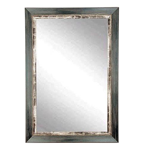 BrandtWorks BM021L2 Weathered Harbor Wall Mirror, 32