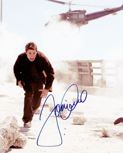 AUTOGRAPHED Tom Cruise (Actor) MISSION IMPOSSIBLE III Hollywood Movie (Action Scene) 8X10 Glossy Photo SIGNED with COA - Mission Impossible Actor